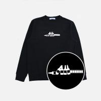 필름끊김 맨투맨 - 검정