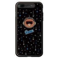 라인프렌즈 iPhone7 + BROWN Meteor LIGHT CASE
