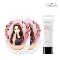 미바 왕쿠션 2개 + 비비크림1개 특가구성