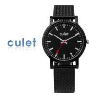 CULET 큐렛 메쉬 밴드 시계 cl10617-ABK