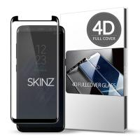스킨즈 갤럭시S8 4D 풀커버 강화유리 필름 (1장)