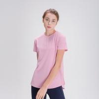스플래쉬 사이드 슬릿 티셔츠 DFW5024 핑크
