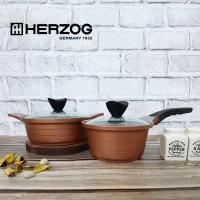 헤르조그 로제 세라믹냄비 2종세트