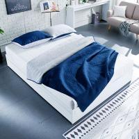 [채우리] 로라 침대 S_본넬 양면매트리스 포함