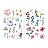 Miccudo 프린트-온 스티커 (11.Flower garden)