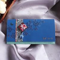 쪽빛 꽃주물 축하봉투 (035-ME-0031)