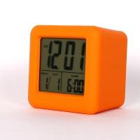 오렌지 사각알람시계 TD717