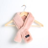 [옐로우스톤] 스몰 에코 퍼 머플러 - YS8002PK 핑크