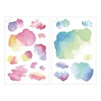 Miccudo 프린트-온 스티커 (9.Water texture)