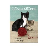 노스텔직아트[14242] Cats and Kittens