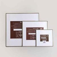 [클레르퐁텐] 보드캠버스 정사각형-카키/사이즈선택