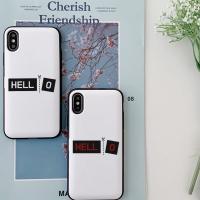아이폰7플러스 HELLO 카드케이스