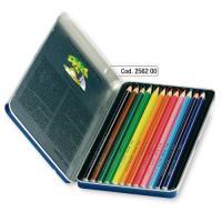 지오토-스틸노보 메탈박스 수채색연필(12색) - 어린이날 선물