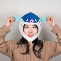 [ SNS대란 인싸템 ] 일본 복어모자 돈키호테 물고기 특이한 팬싸햇