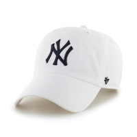 MLB모자 뉴욕 양키즈 화이트 네이비빅로고
