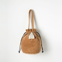 Strap Bucket Bag (Brown) - P005B_BR