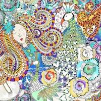 [챔버아트] A5148 화려한 패턴 500조각 직소퍼즐