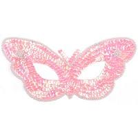 스팡클가면(나비 핑크)