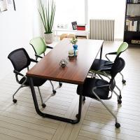 스틸뷰 1200 테이블+의자세트 각진프레임