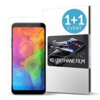 스킨즈 LG Q7 우레탄 풀커버 액정보호 필름 (2장)