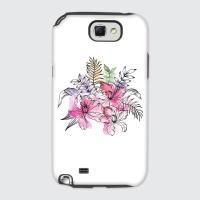 [듀얼케이스] Exotic Flower-C (갤럭시노트2)