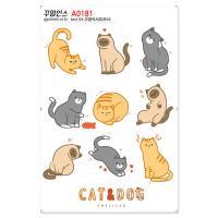 A0181-꾸밈인스스티커_고양이시리즈03