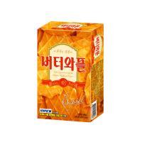 크라운 버터와플 과자 (소) 35g