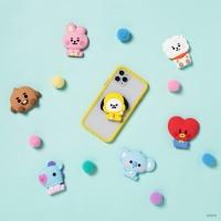 BT21 베이비 버블리 팝톡 실리콘 그립톡 휴대폰거치대