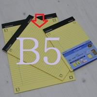 전자책으로 만들어 공유하는 브랜빌-옥스포드 B5 50매의 스마트 리갈패드 5권 A753-2s