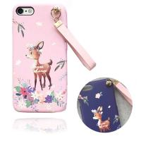 프리미엄  아기사슴의 여행 키링케이스(아이폰11프로)
