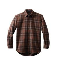 [펜들턴] 롯지 셔츠 울 체크 브라운