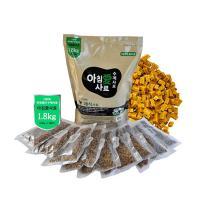 아침애수제사료 채식사료 1.8kg