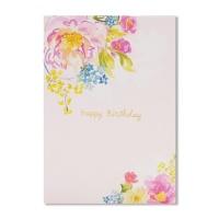 홀마크 생일 축하 카드(꽃)-KED2217