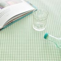 미니미체크 방수식탁보(민트 2인~10인용)