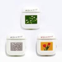 식물도감 에어팟케이스+키링