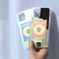 [플랜씨] 해바라기 케이스(UV 미러 하드 젤리)