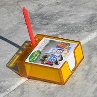 [Kapamax] 필기구꽂이가 부착된 카파맥스 메모케이스+리필 속지 400매 세트 No.97110
