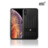 몽블랑 아이폰XS 사토리얼 하드 핸드폰케이스