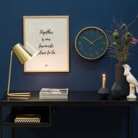 [Karlsson] Gold Elegance 벽시계