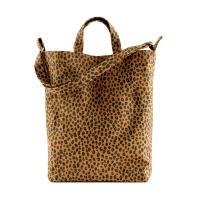 [바쿠백] 덕백 캔버스 토트백 Nutmeg Leopard