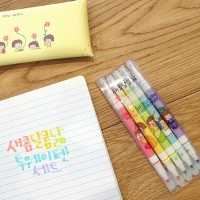 새콤달콤 낢 투웨이펜 5개 세트