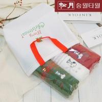 송월 크리스마스 3매세트_E타입