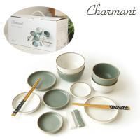샤르망 디너세트 14P (Mint & White)