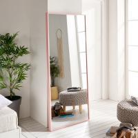 허니 대형 와이드 전신거울 벽거울 핑크브라운