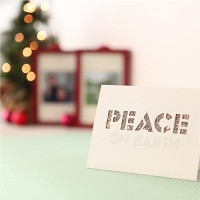 핸드메이드 크리스마스 카드 (패브릭)-피스