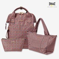 에버라스트_폴렌 여성백팩 홈쇼핑 3종세트_패턴브라운