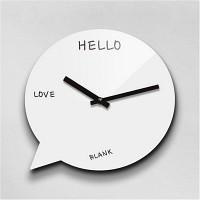 Reflex 말풍선 무소음벽시계(대) BUB280-WH