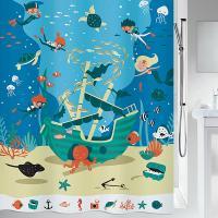 [스피렐라] 스위스 해적 샤워커튼