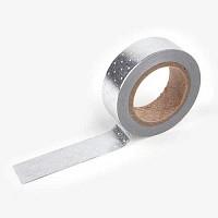 마스킹테이프 - 37 Dot : silver