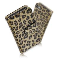 [HICKIES] 아이폰5 카드수납 호피무늬 다이어리 케이스